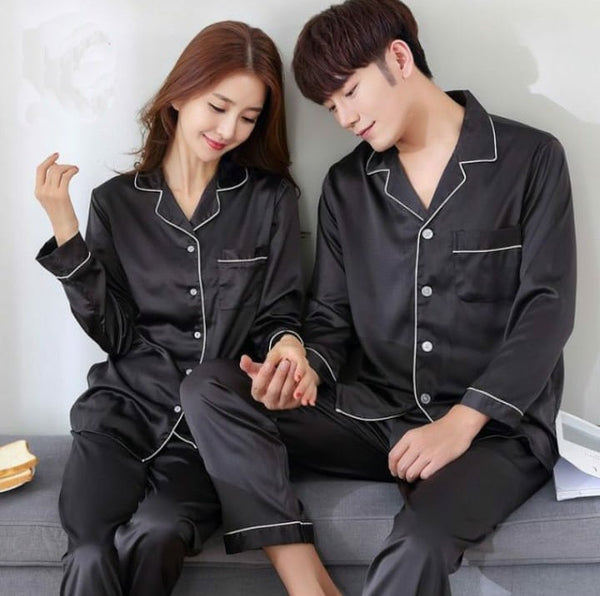 Pack Of 2 Silk Night Suits