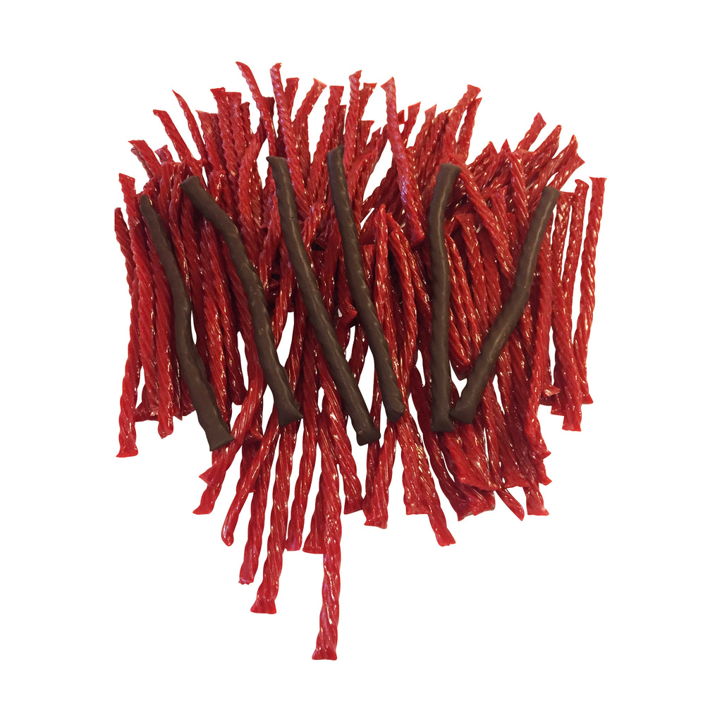 Chocolate-covered Twizzlers