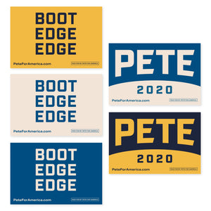 Rally Signs (Pack of 5)