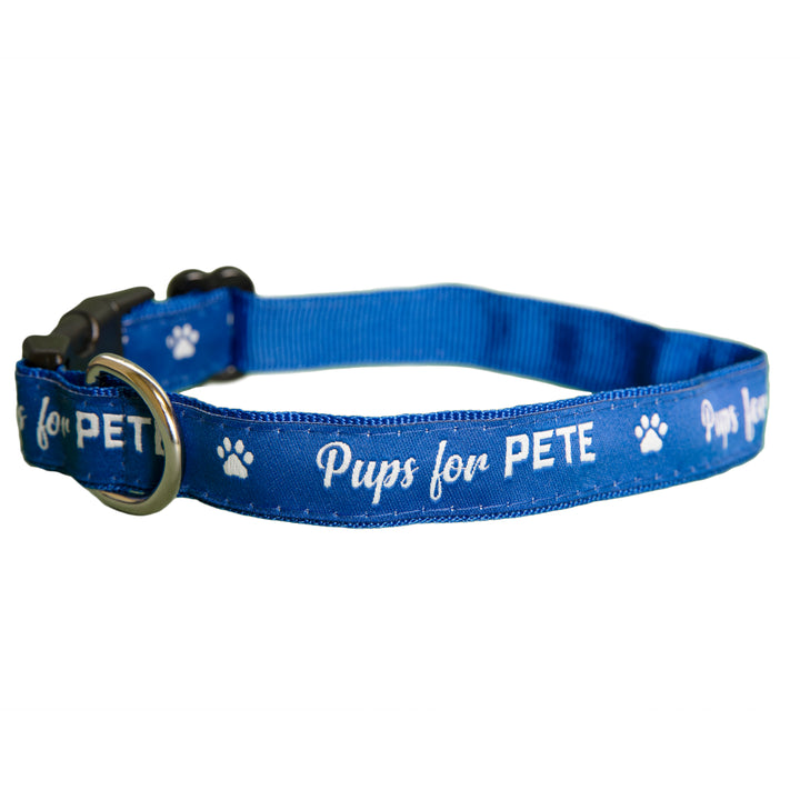 Pups for Pete Dog Collar