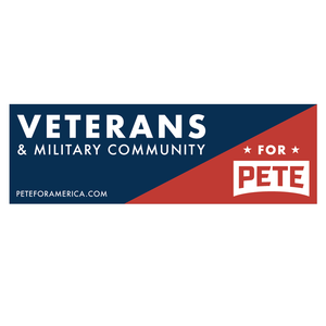 Veterans and Military Community Bumper Stickers (Set of 3)