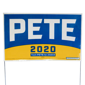 Pete 2020 Yard Signs