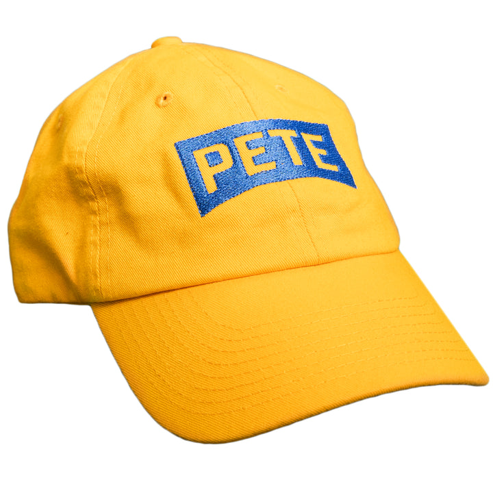 Pete Logo Hat (Yellow)