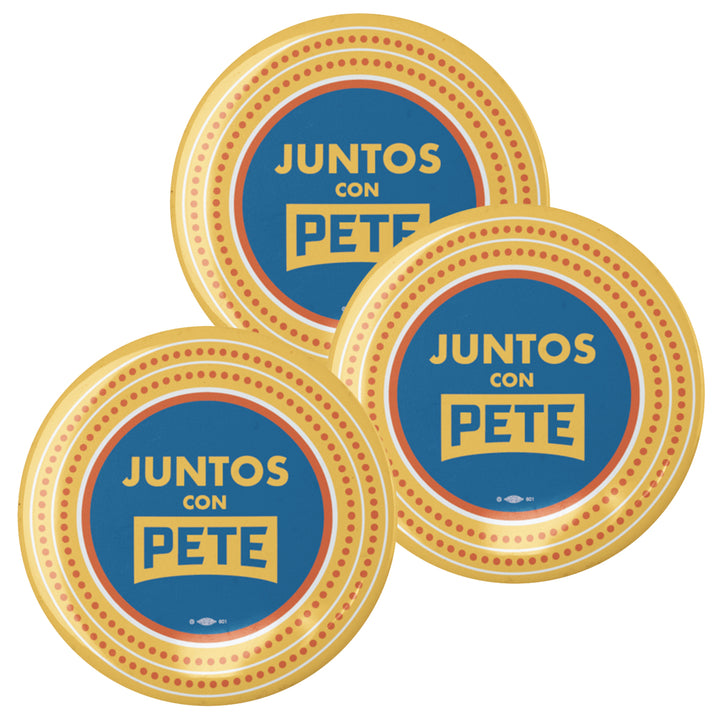 Juntos con Pete Button (set of 3)