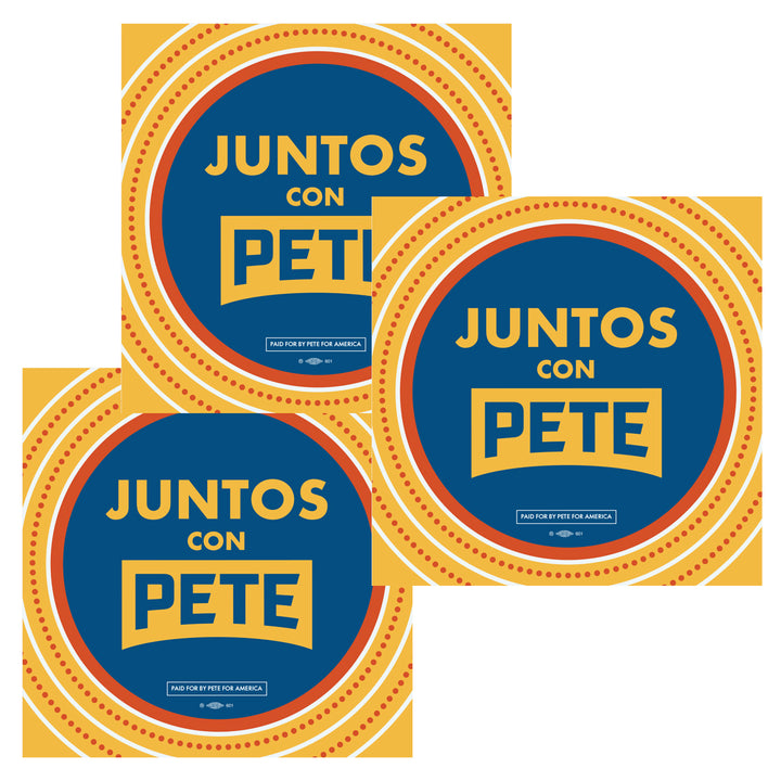 Juntos con Pete Stickers (Set of 3)