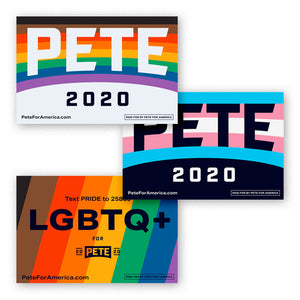 Pride Rally Signs (Pack of 5)