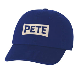 Pete Logo Embroidered Hat