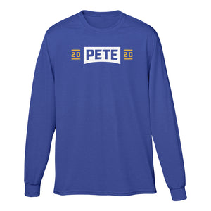Pete 2020 Long Sleeve Tee (Royal Blue)