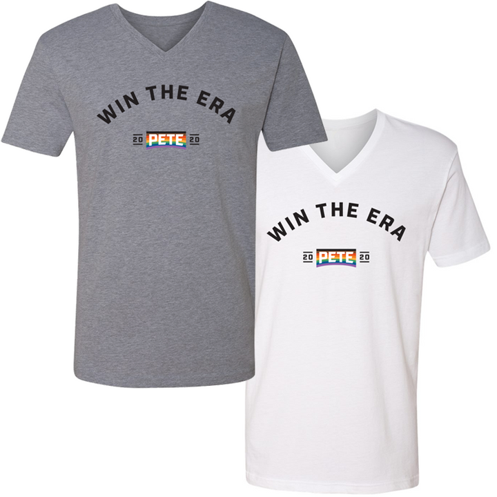 Win The Era V-Neck T-Shirt