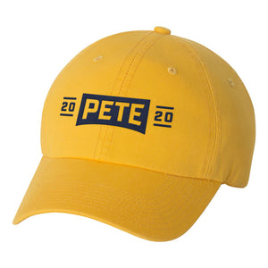 Pete 2020 Embroidered Hat