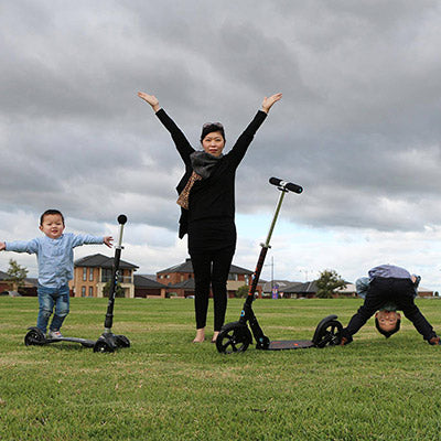 Awesome Micro Scooter Family
