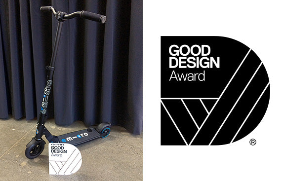 emicro Electric scooters Good design awards