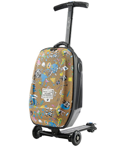 Steve Aoki Luggage Scooter