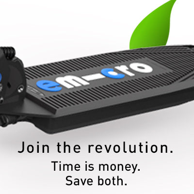 emicro electric scooter join the revolution