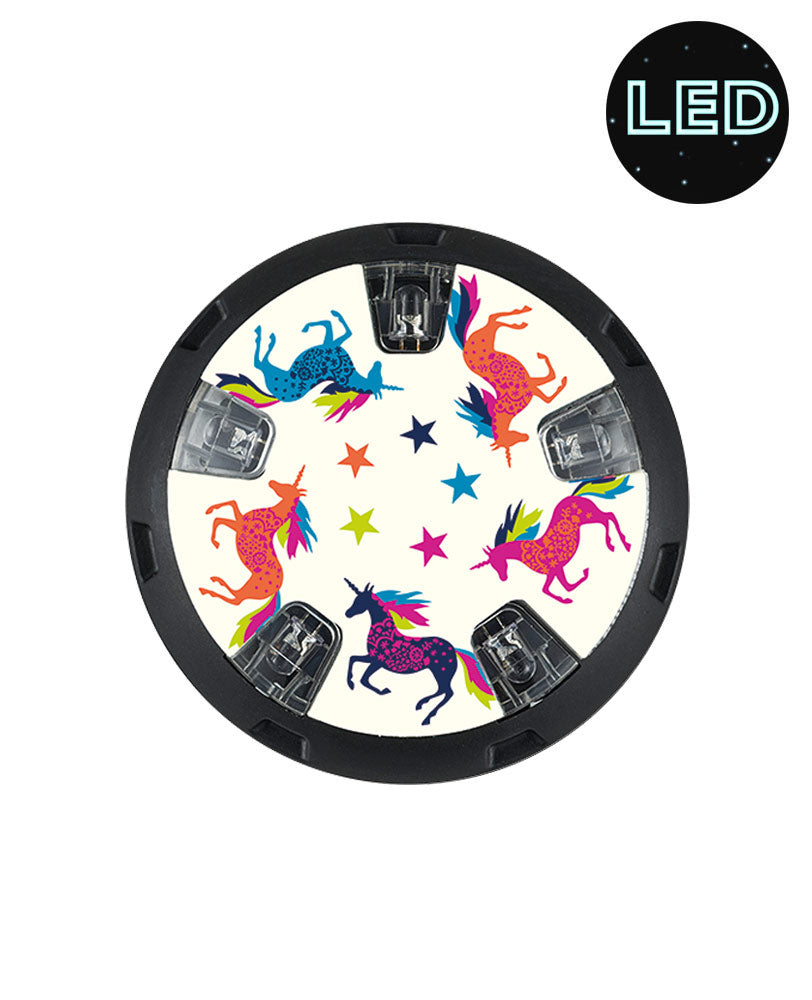 Micro Light Up Wheel Whizzers - Unicorn