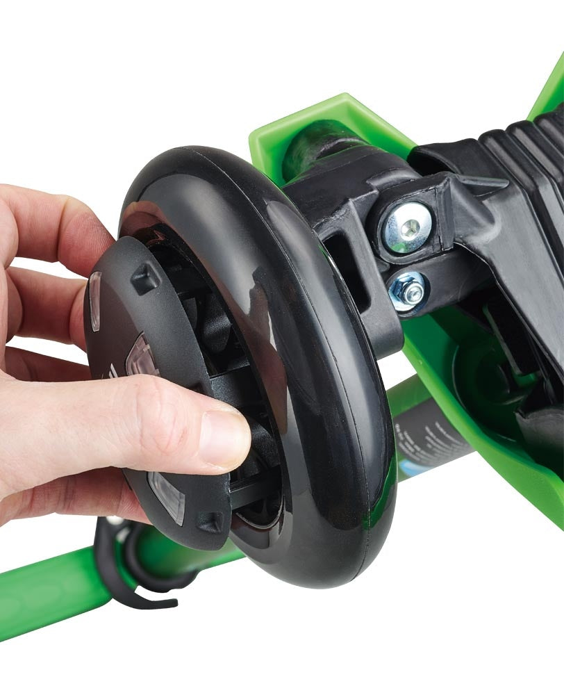 light up micro scooter wheel whizzer easy to clip on
