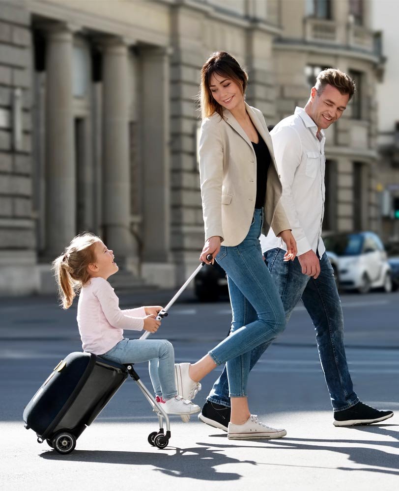 family fun with the micro luggage eazy
