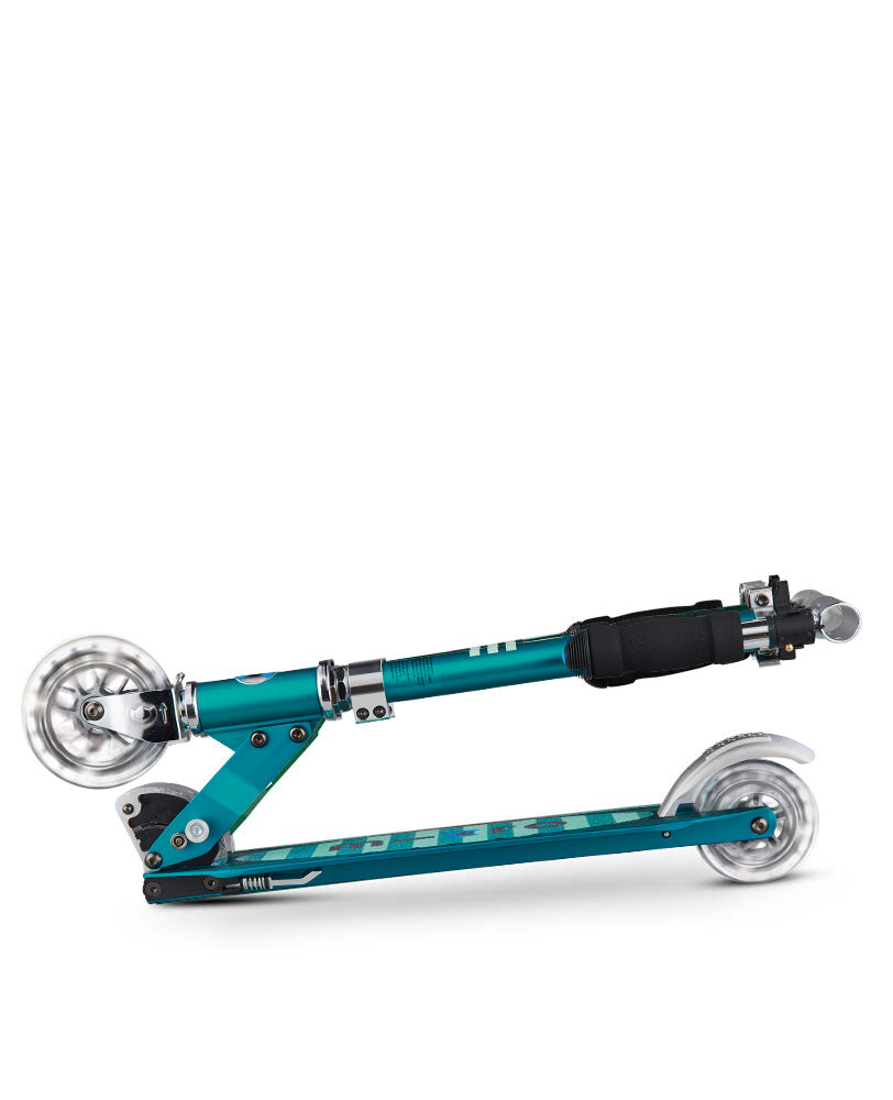 Micro Sprite Light Up Scooter - Sea Green