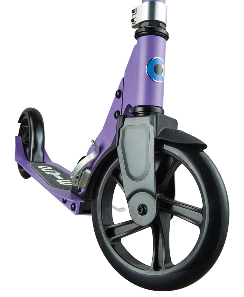 micro scooter cruiser purple front wheel