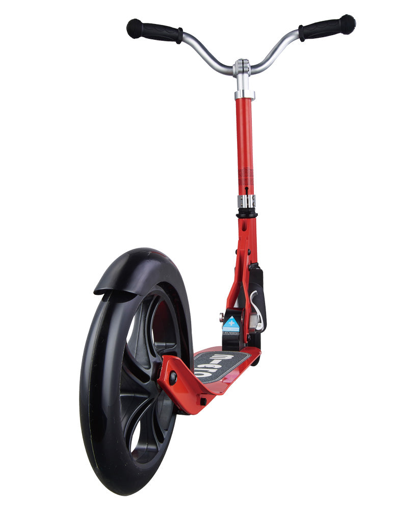 micro scooter cruiser red back wheel