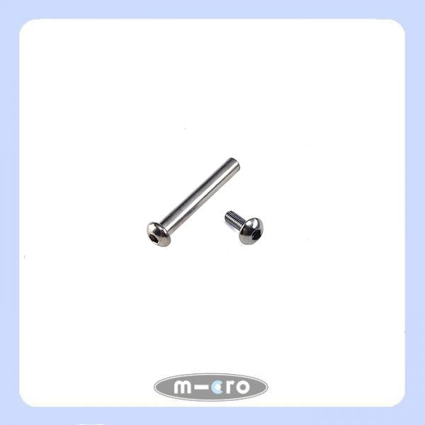micro suspension bolt for holder plates