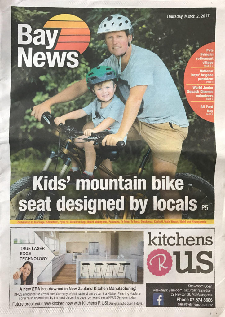 Shotgun MTB Seat Bay News Cover