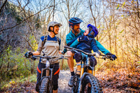 Family with Child MTB Bike Seat