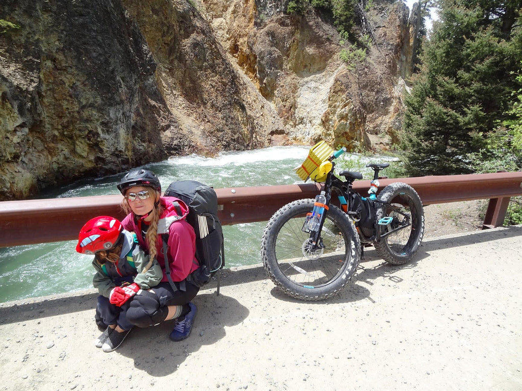 Bike Packing With Kids