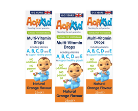 3x ActiKid® Multi-Vitamin Drops 25ML