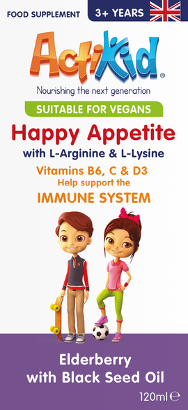 NEW ActiKid® Happy Appetite Immune System 120ML