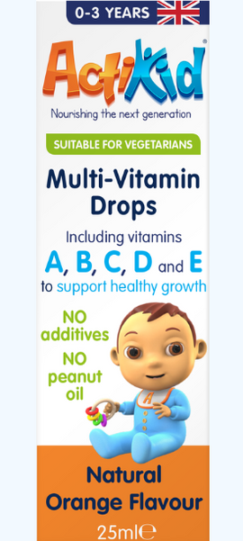 ActiKid® Multi-Vitamin Drops