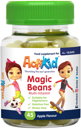 ActiKid® Magic Beans Multi-Vitamin Apple Flavour