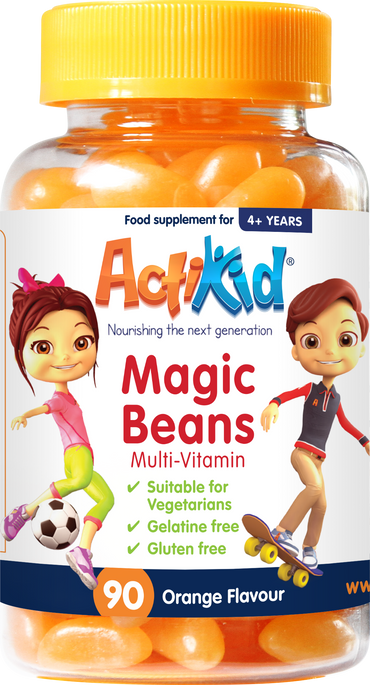 ActiKid® Magic Beans Multi-Vitamin Orange Flavour