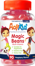 2x Magic Beans Orange 90, 1x Magic Beans Raspberry 90