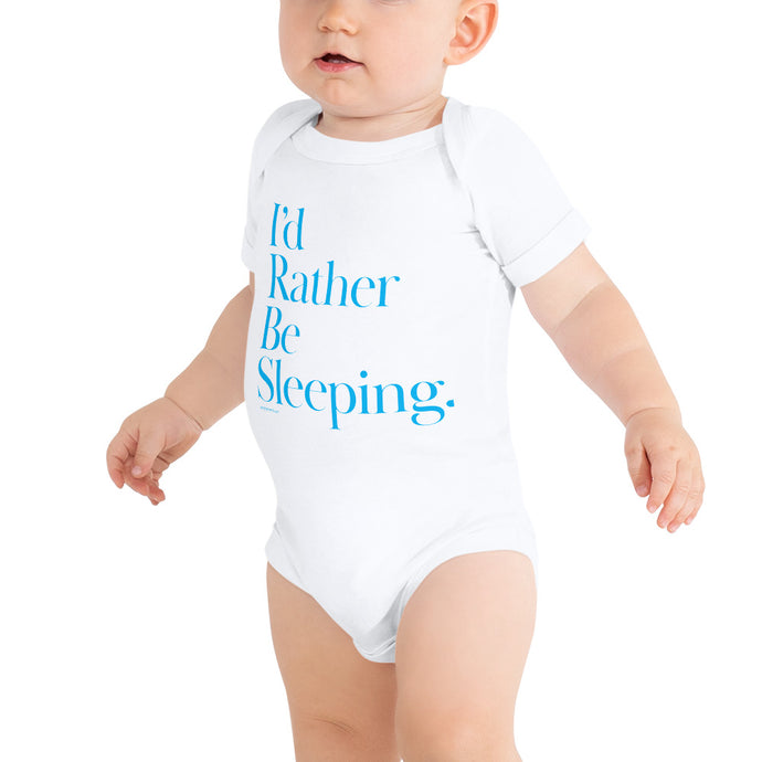 I'd rather be sleeping onesie