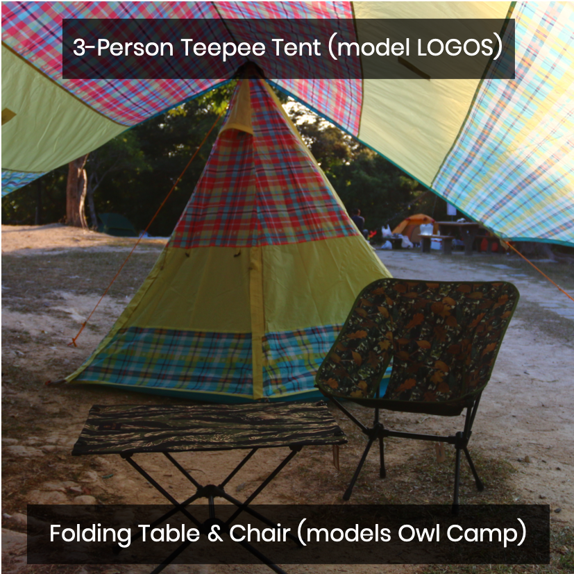 Tent & Camping Equipment Rental (Self pick-up)