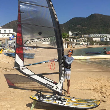 Beginner Windsurf Rental