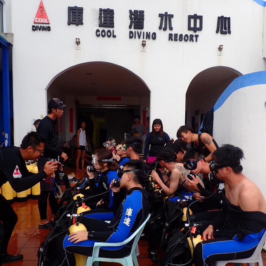 4-Day 3-Night Taiwan PADI Open Water Diving Lesson in Taitung