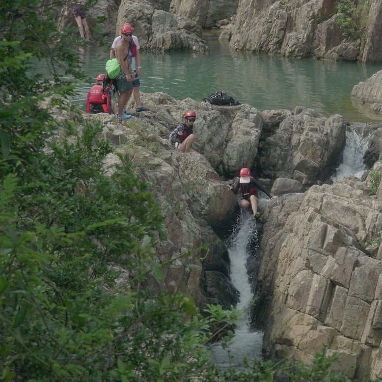 Sai Wan Canyoning and Slackline Tour by A-Team Edventures