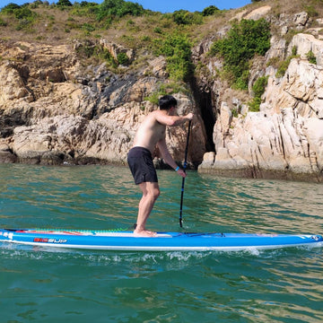 8-Hour Intermediate SUP Lesson with Silver Cert.