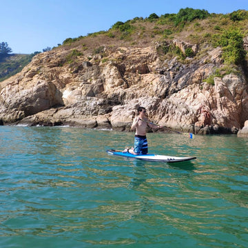 2-Hour Beginner SUP Lesson with HKSUPBA Cert.