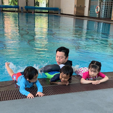 [2-10 yrs old] 4x1 Hour Children Swimming Group Class (Hong Kong Island)