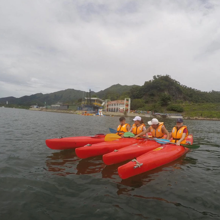 [1, 2 or 3 Star Award Certificate] 6-Hour Kayaking Lesson (Tai Mei Tuk)