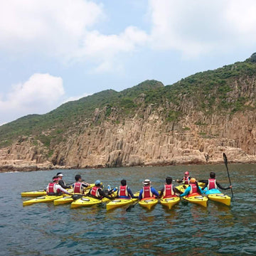 [1, 2 or 3 Star Award Certificate] 8-Hour Kayaking Course (Tsam Chuk Wan)