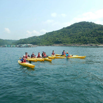 [1, 2 or 3 Star Award Certificate] 8-Hour Kayaking Course (Tai Mei Tuk)