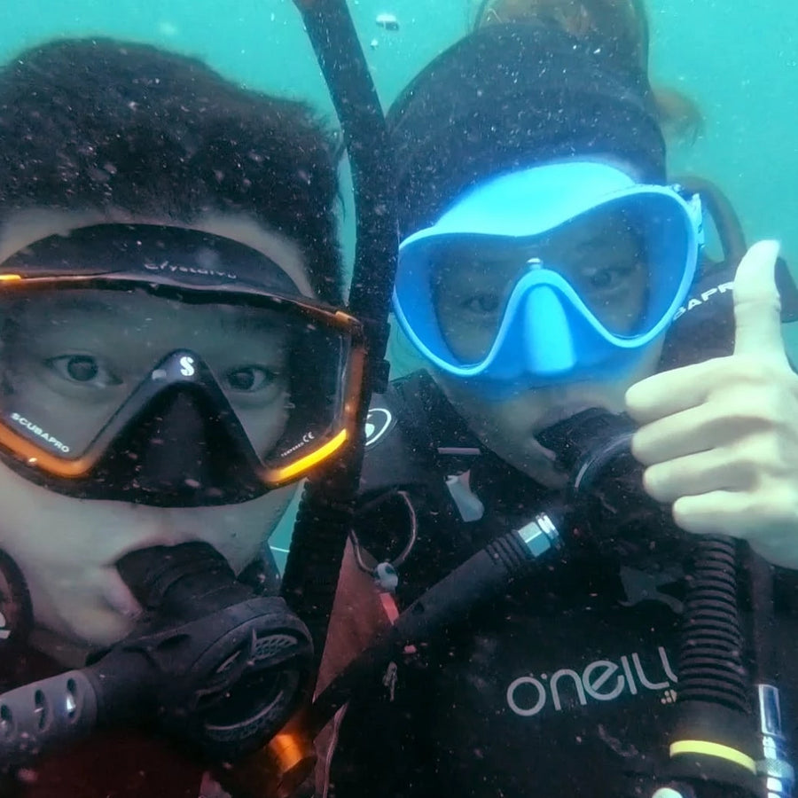 7-Hour CSR Event - Fun diving with Ocean Cleaning (Tai Po)