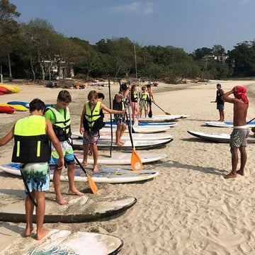 2-Hour Stand-up Paddle Lesson (Lantau)