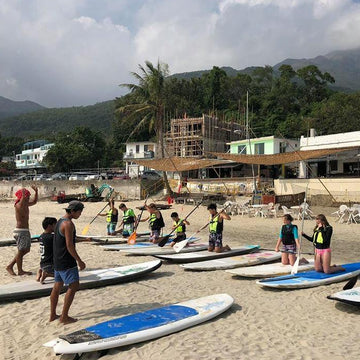 2-Hour Stand-up Paddle Turtle Island Tour (Lantau)