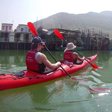 6-Hour Tai O Village kayaking and Waterfall Tour (Lantau)