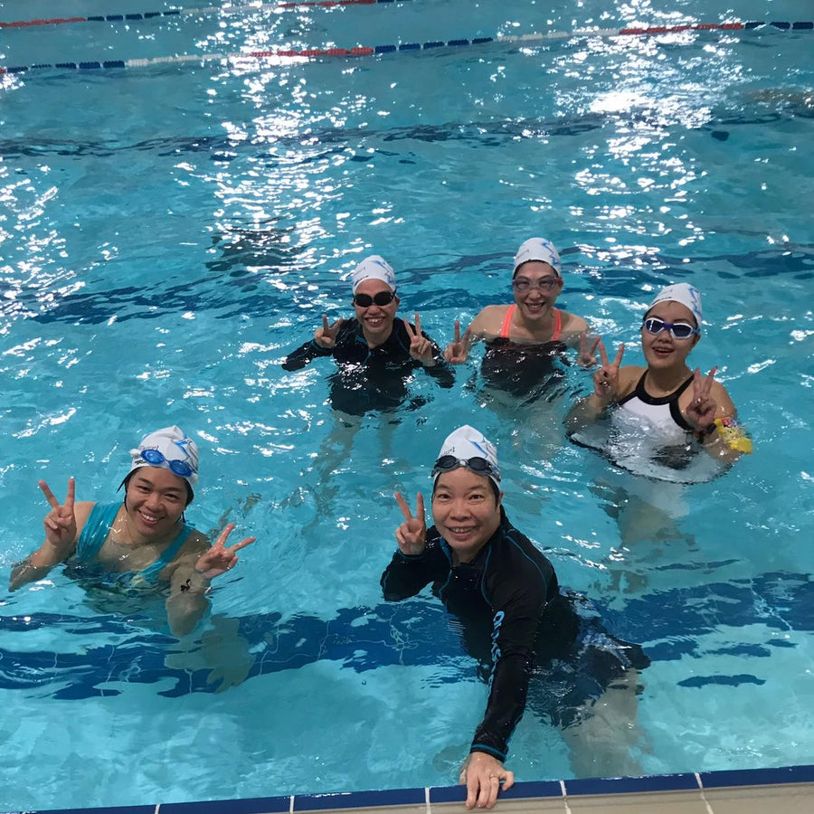 3x1 hour Adult Swimming Group Class (Kwun Tong)